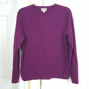 Merona Longsleeves Cotton Cashmere Top Sweater S